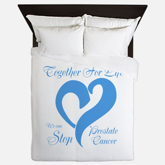 Stop Prostate Cancer Queen Duvet