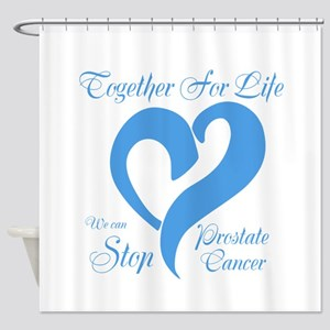 Stop Prostate Cancer Shower Curtain