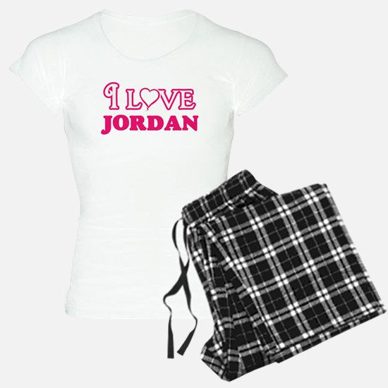 I Love Jordan Pajamas