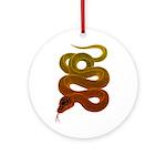 snake Ornament (Round)