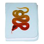 snake baby blanket
