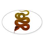 snake Sticker (Oval 10 pk)