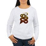 snake Women's Long Sleeve T-Shirt
