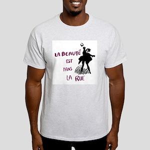 Paris '68 Ash Grey T-Shirt