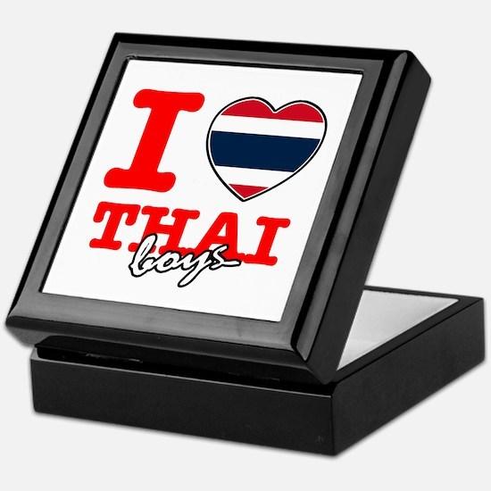 I love Thai boys Keepsake Box