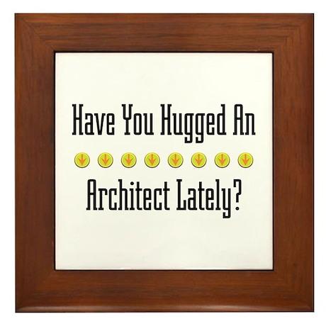 Hugged Architect Framed Tile