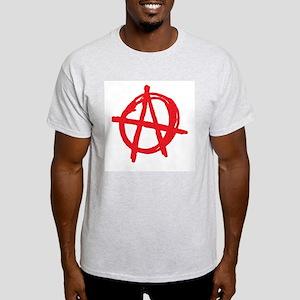Anarchy Ash Grey T-Shirt