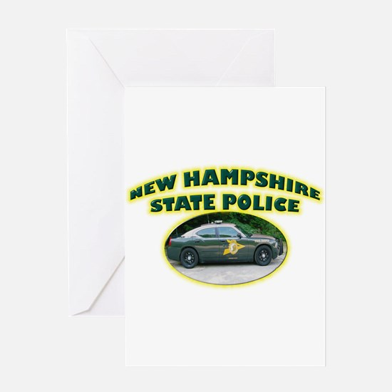 New Hampshire State Police Greeting Card