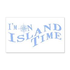 Island Time Wall Decal