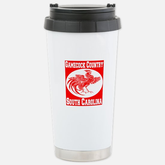 Gamecock Country SC Stainless Steel Travel Mug