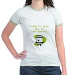 Your Day in the Barrel Jr. Ringer T-Shirt