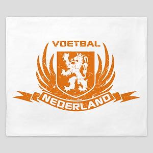 Voetbal Nederland Cres King Duvet