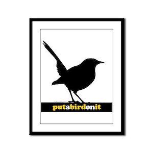 Putabird.2 Framed Panel Print