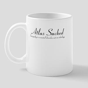 Atlas Sucked: the Mug