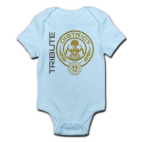 TRIBUTE - District 12 Infant Bodysuit