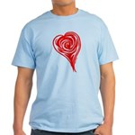 The Heart of the Red Rose Light T-Shirt