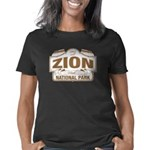 Zion National Park Sign De Women's Classic T-Shirt