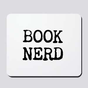 Book Nerd Mousepad