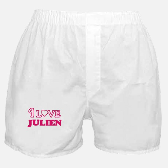 I Love Julien Boxer Shorts