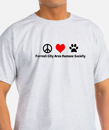 Peace, Love, Dogs T-Shirt