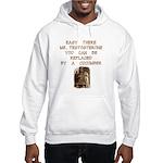 Easy There Mr. Testosterone Hooded Sweatshirt