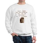 Easy There Mr. Testosterone Sweatshirt