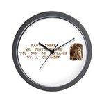 Easy There Mr. Testosterone Wall Clock