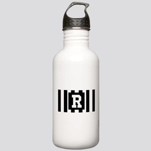 """Football """"R"""" Stainless Water Bottle 1.0L"""