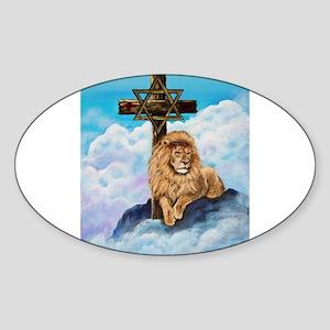 Original Artwork Sticker (Oval)