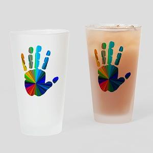 Hand Drinking Glass