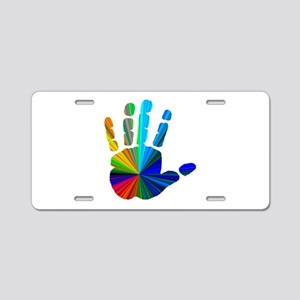 Hand Aluminum License Plate