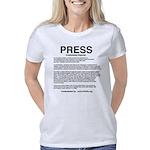 PRESS Shirt Text Women's Classic T-Shirt