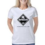 hazmat_10x10_dot_republica Women's Classic T-Shirt