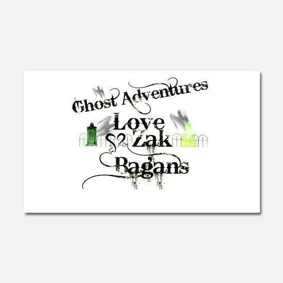 Ghost Adventures Car Magnet 20 x 12