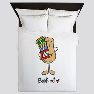 Book Nut Queen Duvet