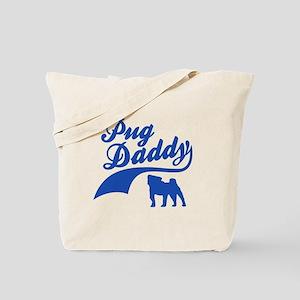 Pug Daddy Tote Bag