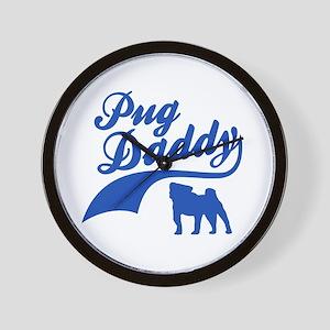 Pug Daddy Wall Clock