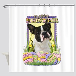 Easter Egg Cookies - Boxer Shower Curtain