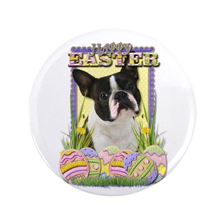"Easter Egg Cookies - Boston 3.5"" Button (100 pack)"
