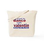 DWTS Val Fan Tote Bag