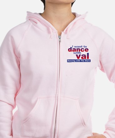 I Want to Dance with Val Zip Hoodie