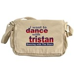 I Want to Dance with Tristan Messenger Bag