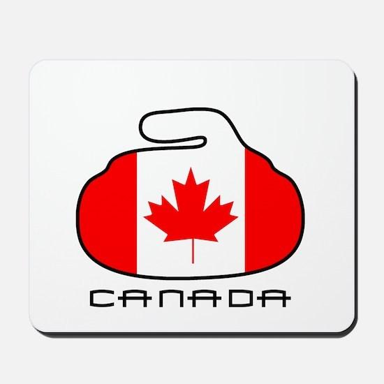 Canada Curling Mousepad
