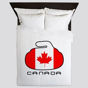 Canada Curling Queen Duvet