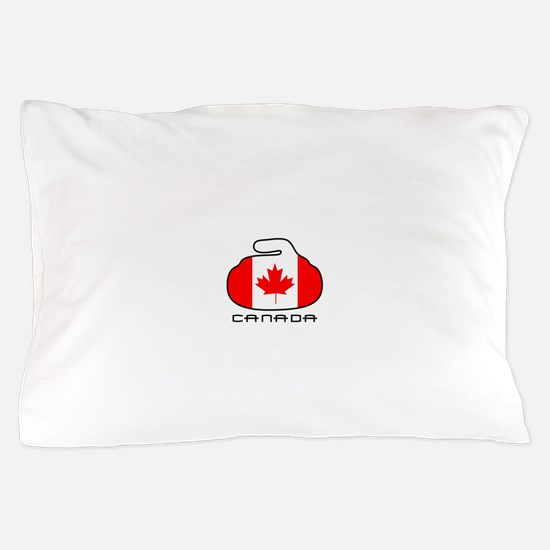 Canada Curling Pillow Case