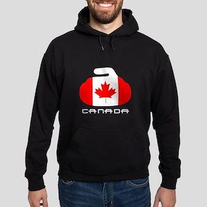 Canada Curling Hoodie (dark)