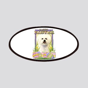 Easter Egg Cookies - Bichon Patches