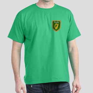Brady Family Crest Dark T-Shirt