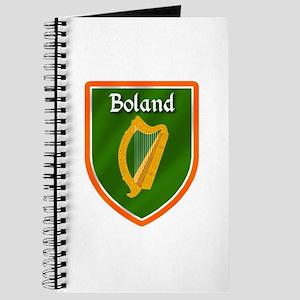 Boland Family Crest Journal