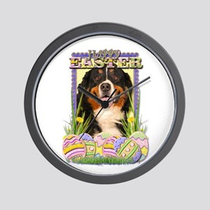 Easter Egg Cookies - Bernie Wall Clock